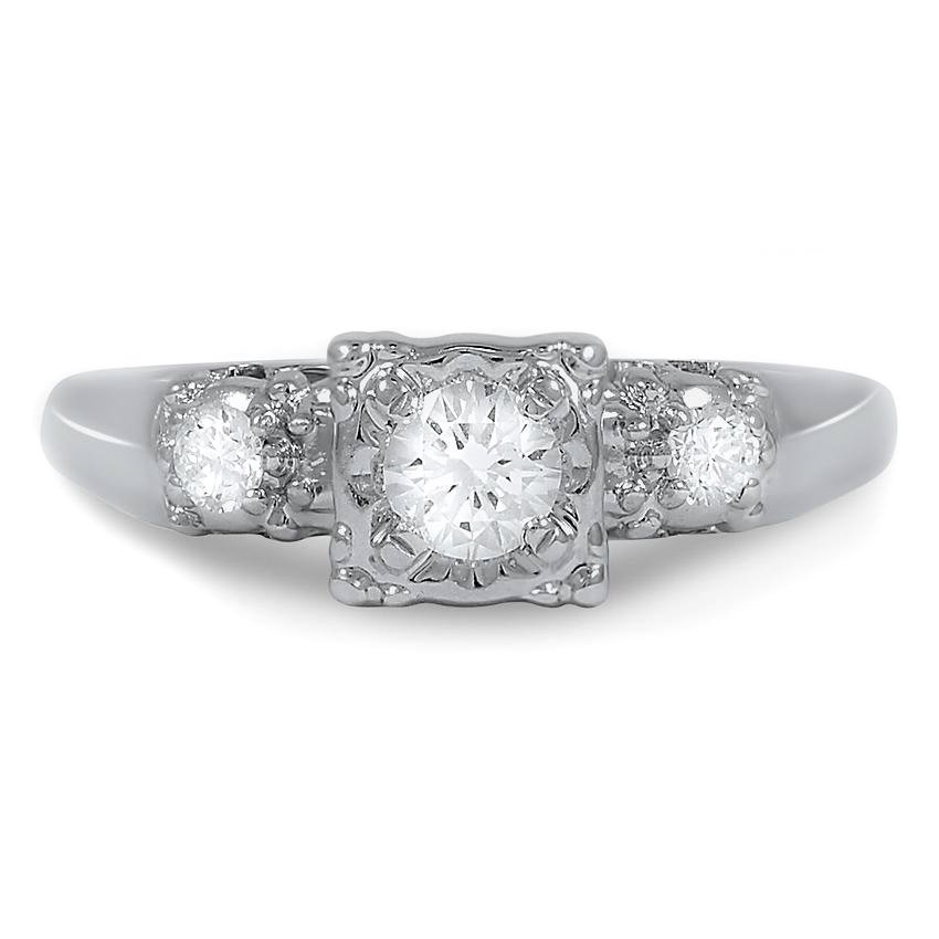The Janene Ring, top view