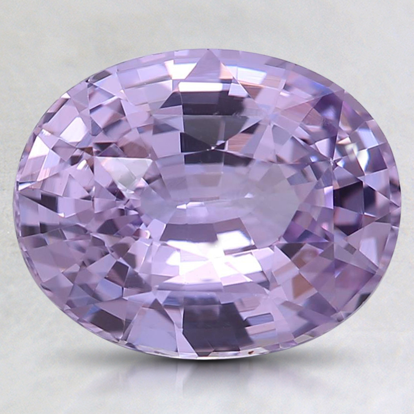 9.4x7.5mm Unheated Pink Oval Sapphire