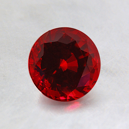 6mm Lab Created Round Ruby