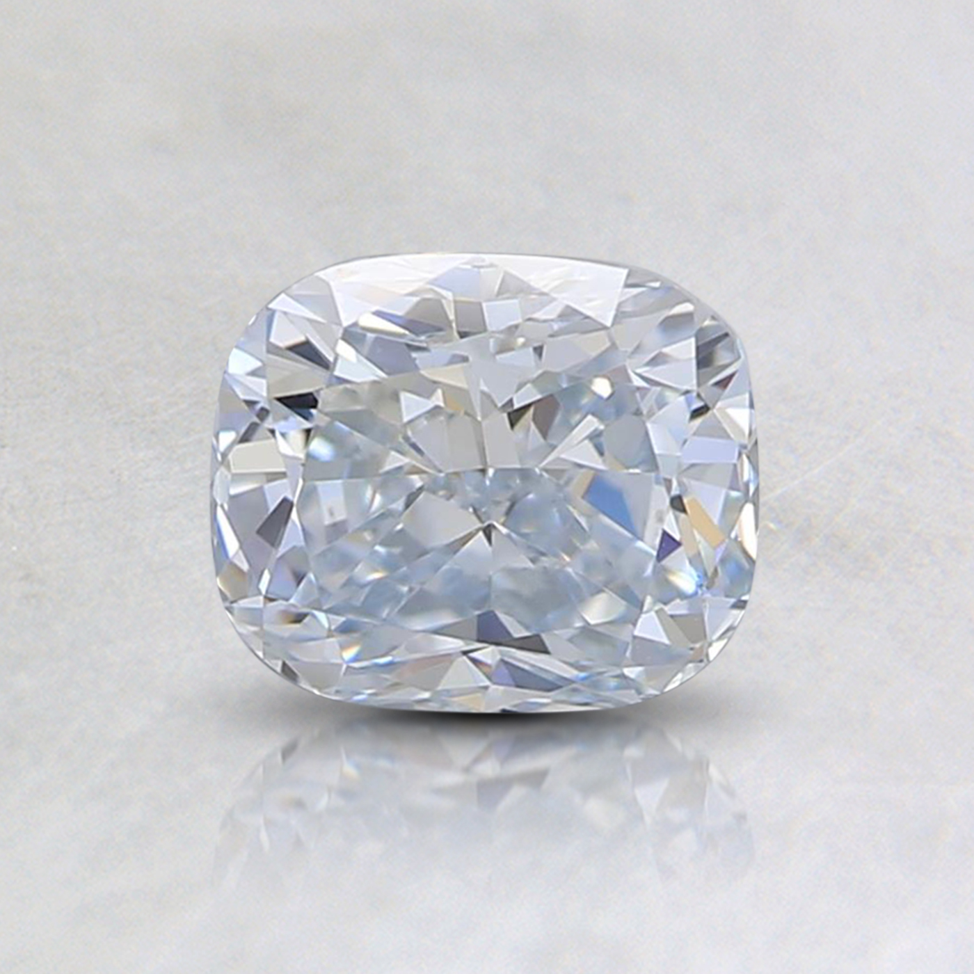 0.78 Ct. Light Blue Cushion Lab Created Diamond