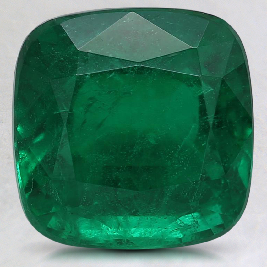 9.3mm Premium Cushion Emerald