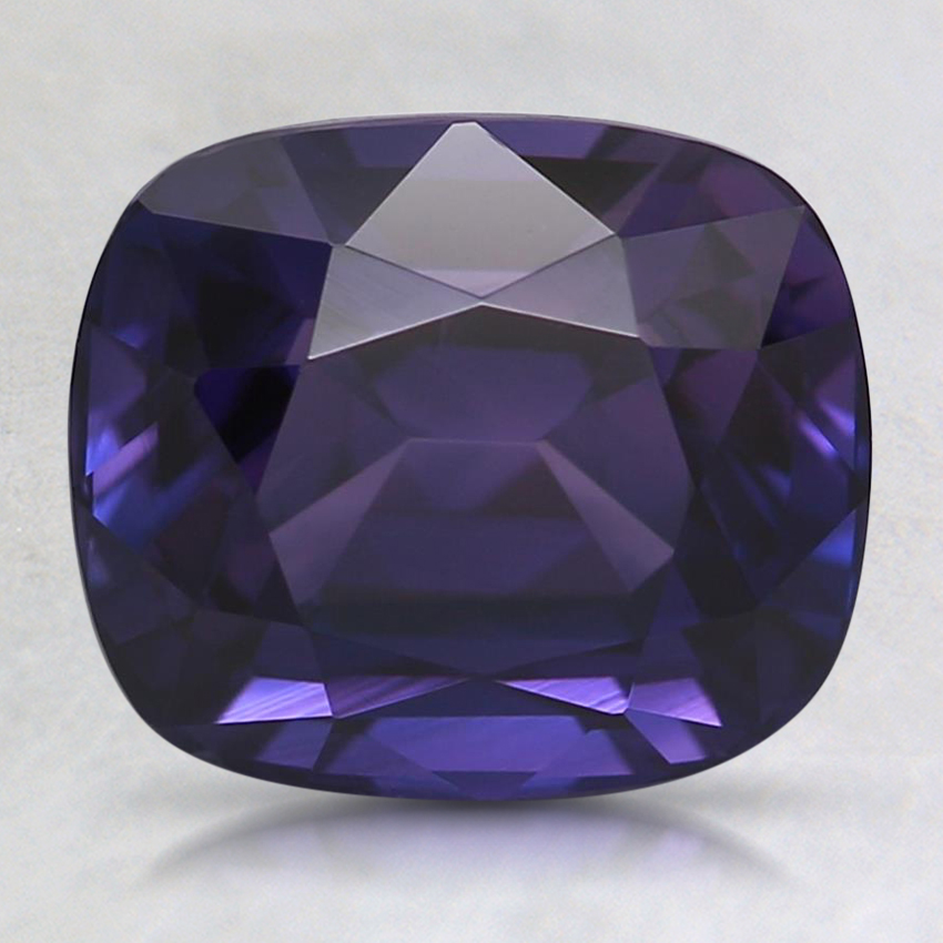 8.7x7.4mm Premium Purple Cushion Sapphire