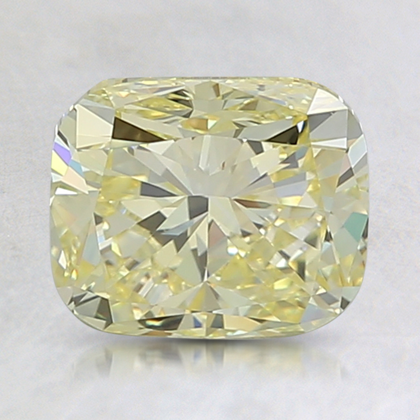 2.04 Ct. Fancy Yellow Cushion Lab Created Diamond