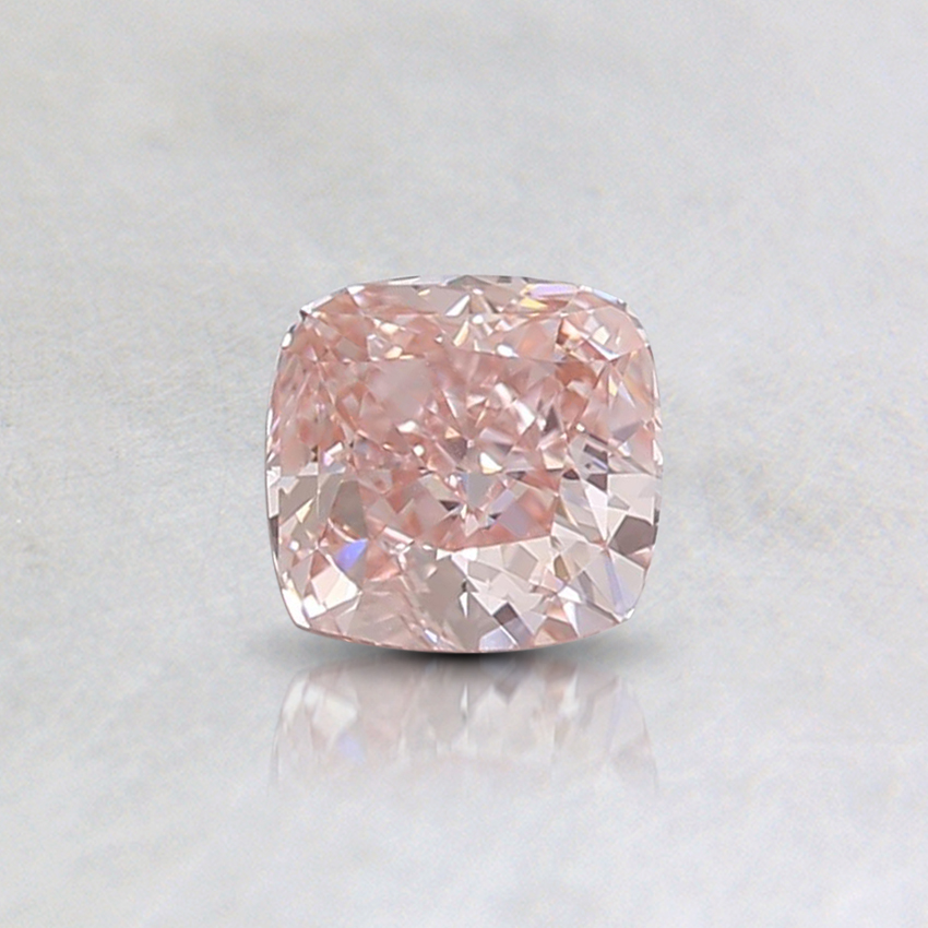 0.40 Ct. Fancy Pink Cushion Lab Created Diamond