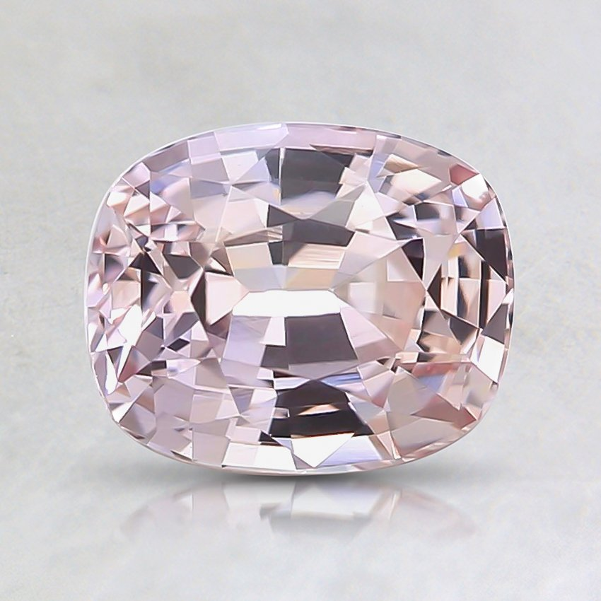 7.2x5.9mm Unheated Peach Cushion Sapphire