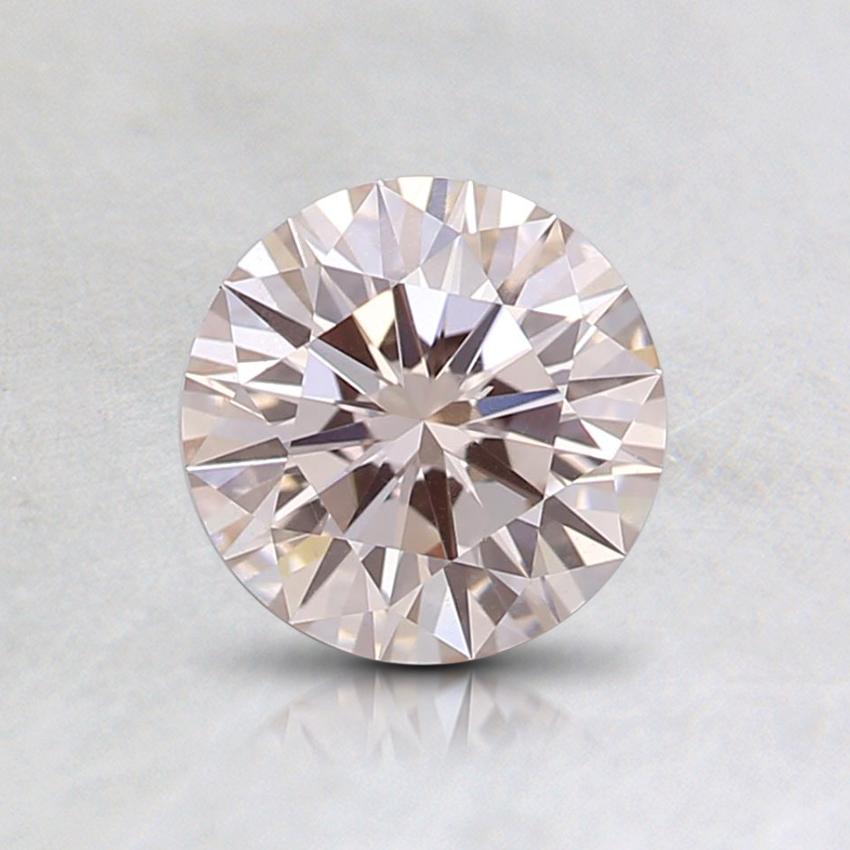 0.74 Ct. Light Pink Round Lab Created Diamond