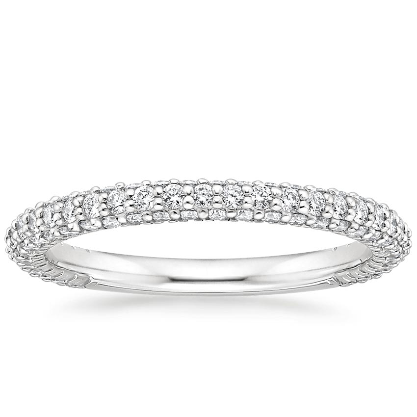 Luxe Micro-Pave Diamond Ring