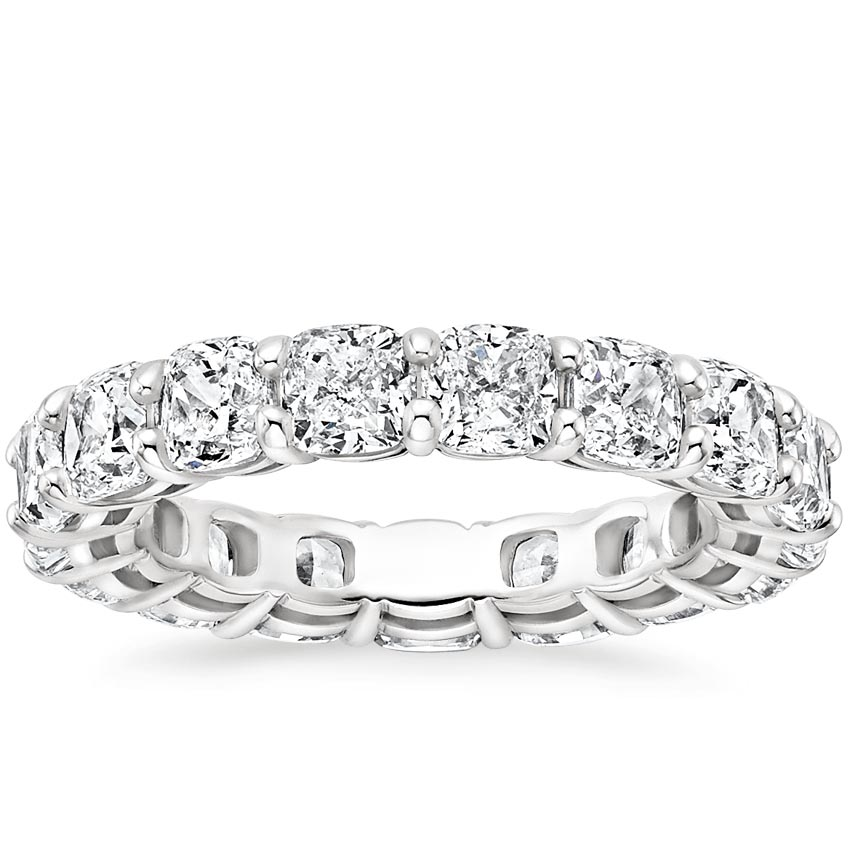 Cushion Eternity Diamond Ring (5 ct. tw.)