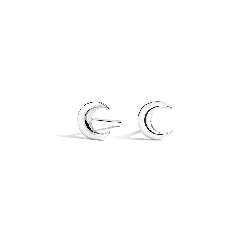 The edge of the moon earrings