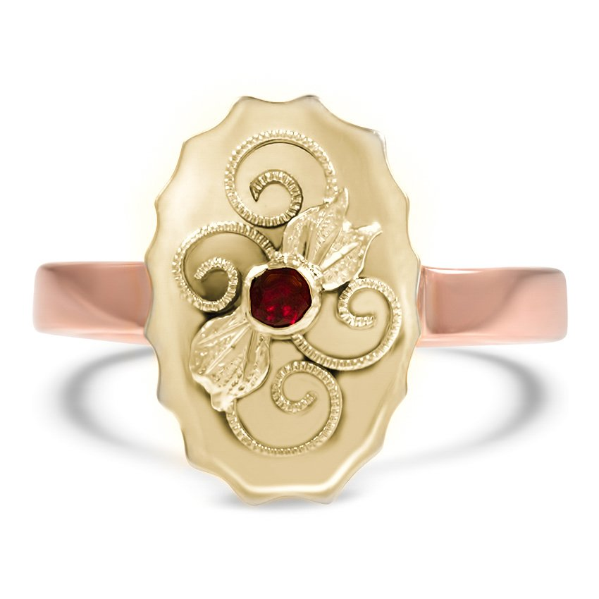 The Masha Ring, top view