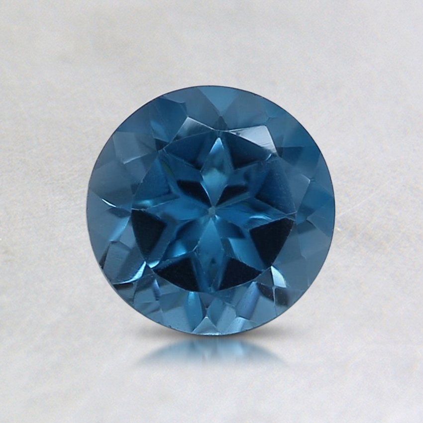 6mm London Blue Round Topaz