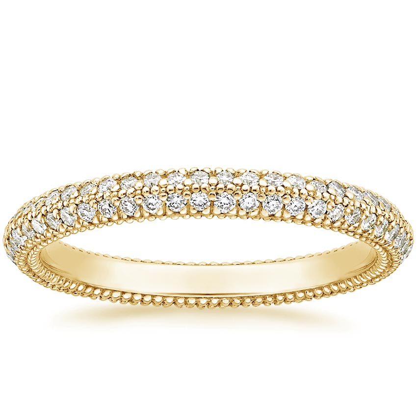 Yellow Gold Sadie Eternity Diamond Ring (1/2 ct. tw.)