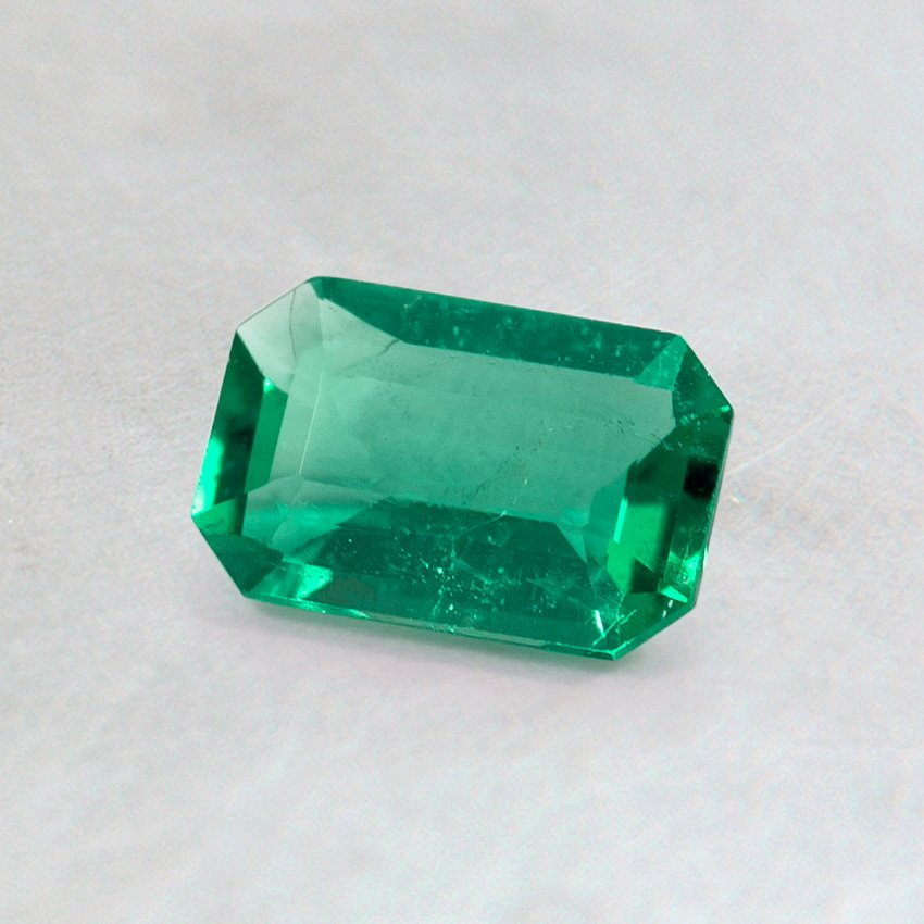 6X4mm Emerald Cut Emerald
