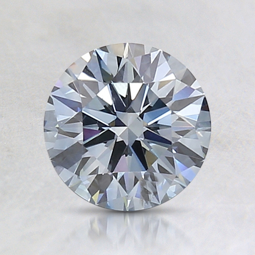 1.10 Ct. Fancy Blue Round Lab Created Diamond