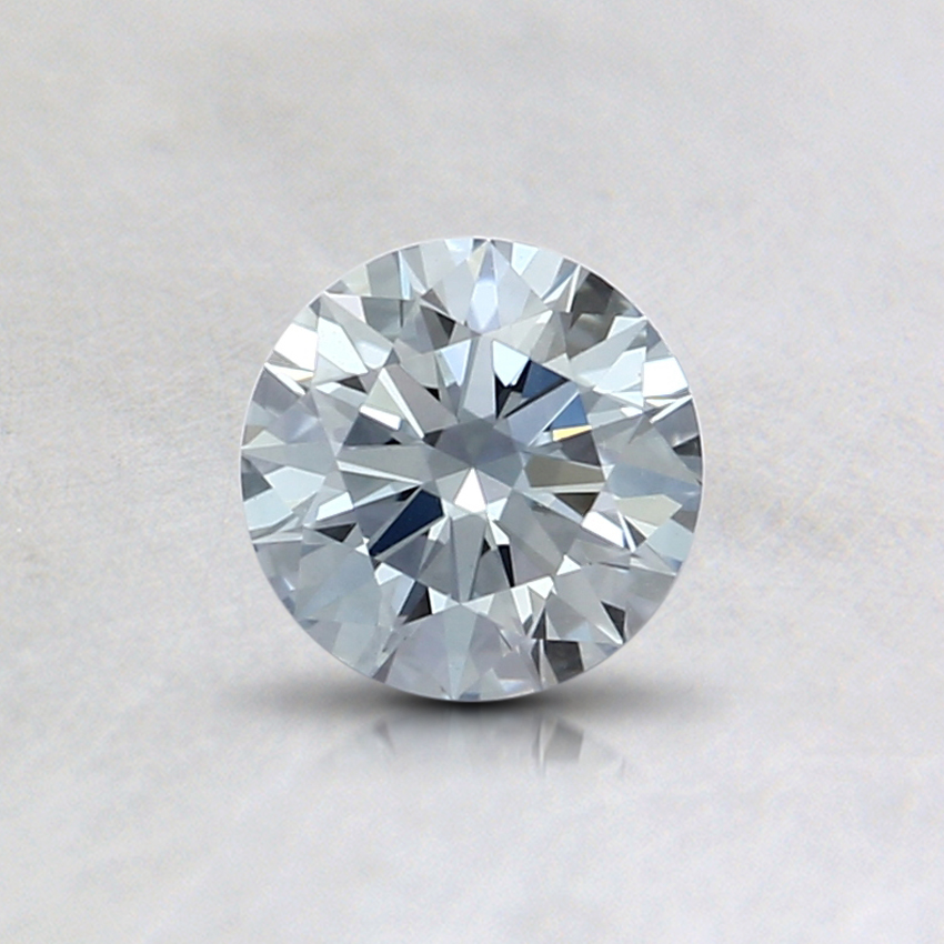 0.46 Ct. Light Blue Round Lab Created Diamond