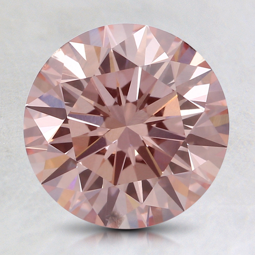 2.07 Ct. Fancy Pink Round Lab Created Diamond