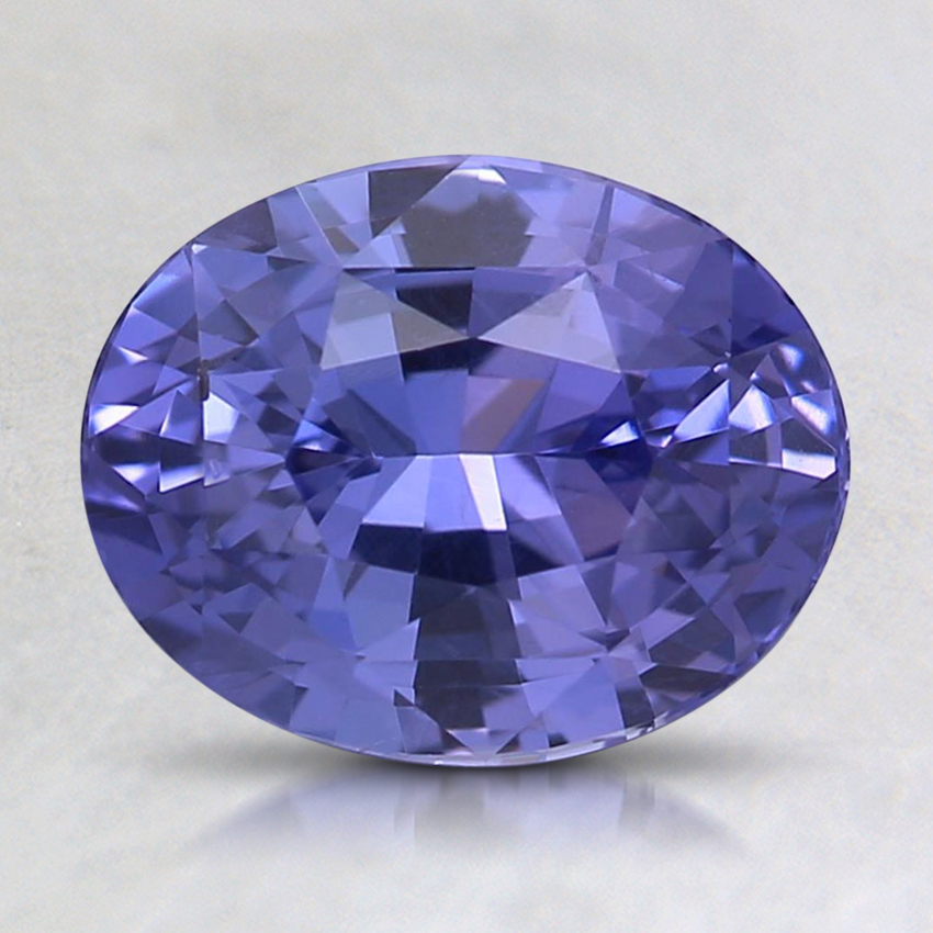 8.4x6.6mm Unheated Violet Oval Sapphire