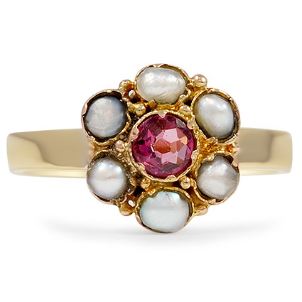 The Ania Ring, top view