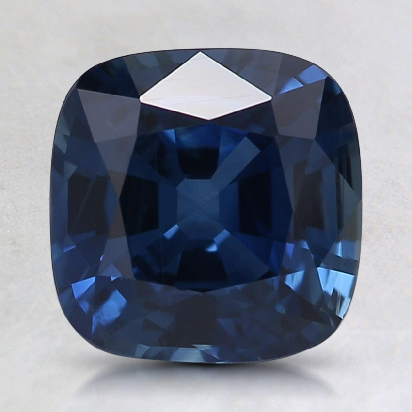 7.7mm Super Premium Blue Cushion Sapphire