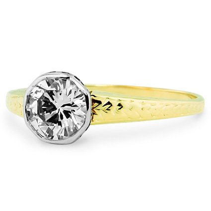 The Valentine Ring, top view