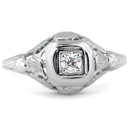The Vivace Ring, top view