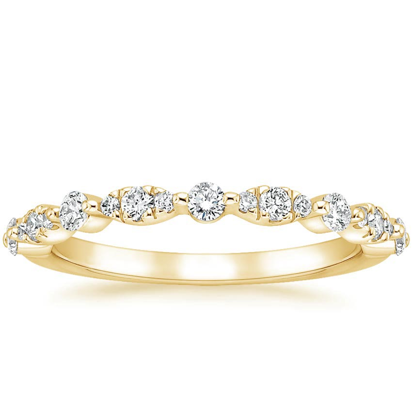 Yellow Gold Odette Diamond Ring (1/4 ct. tw.)