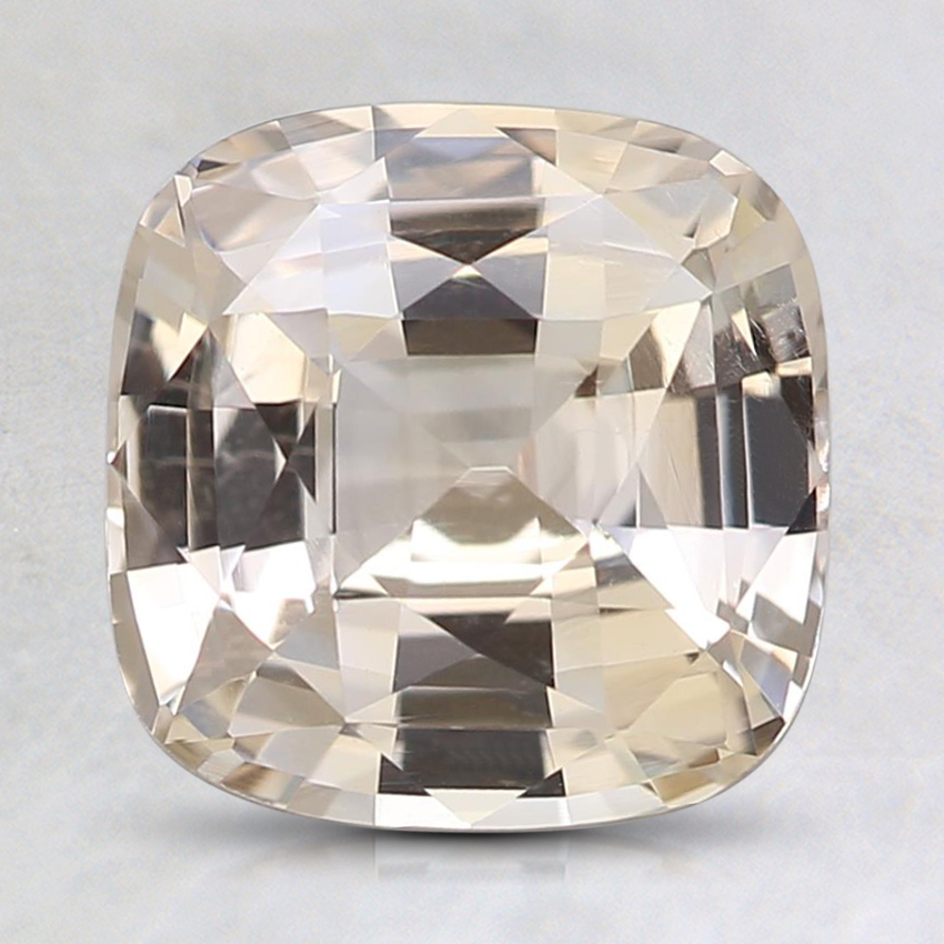 7.8mm Unheated Peach Cushion Sapphire