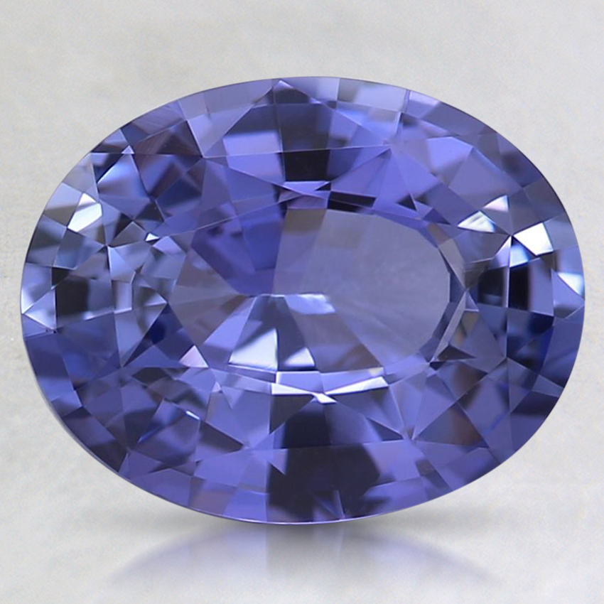 9.5x7.5mm Unheated Purple Oval Sapphire
