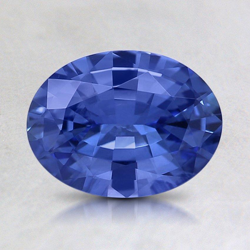 8x6mm Blue Oval Sapphire Sbsl8x6ov3