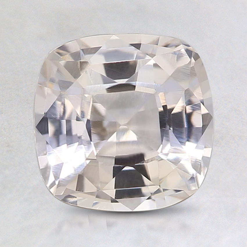 7.4mm Unheated Peach Cushion Sapphire