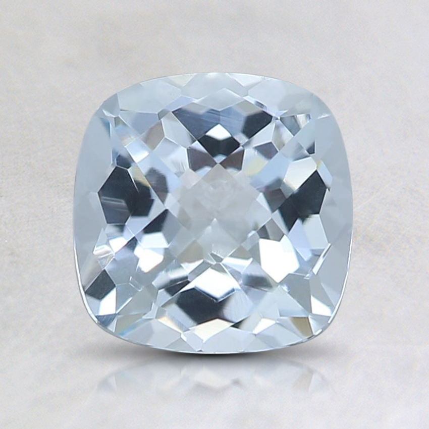 6.6mm Fine Cushion Aquamarine