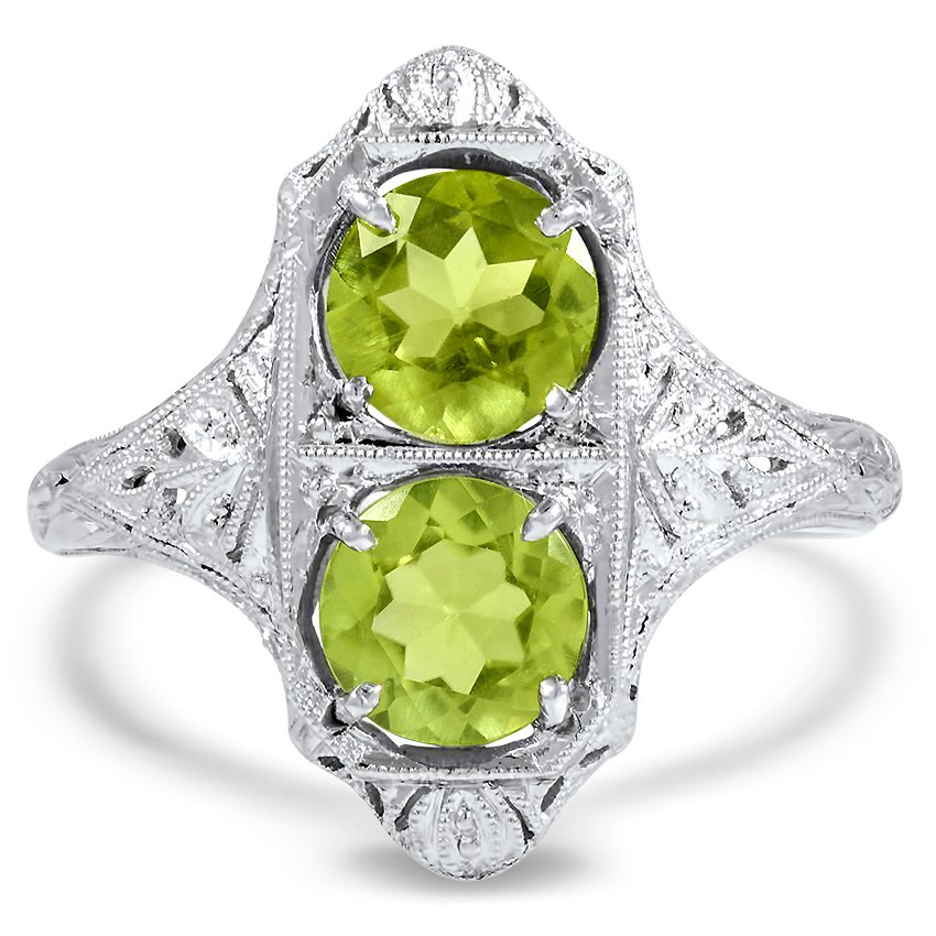 Edwardian Reproduction Peridot Vintage Ring