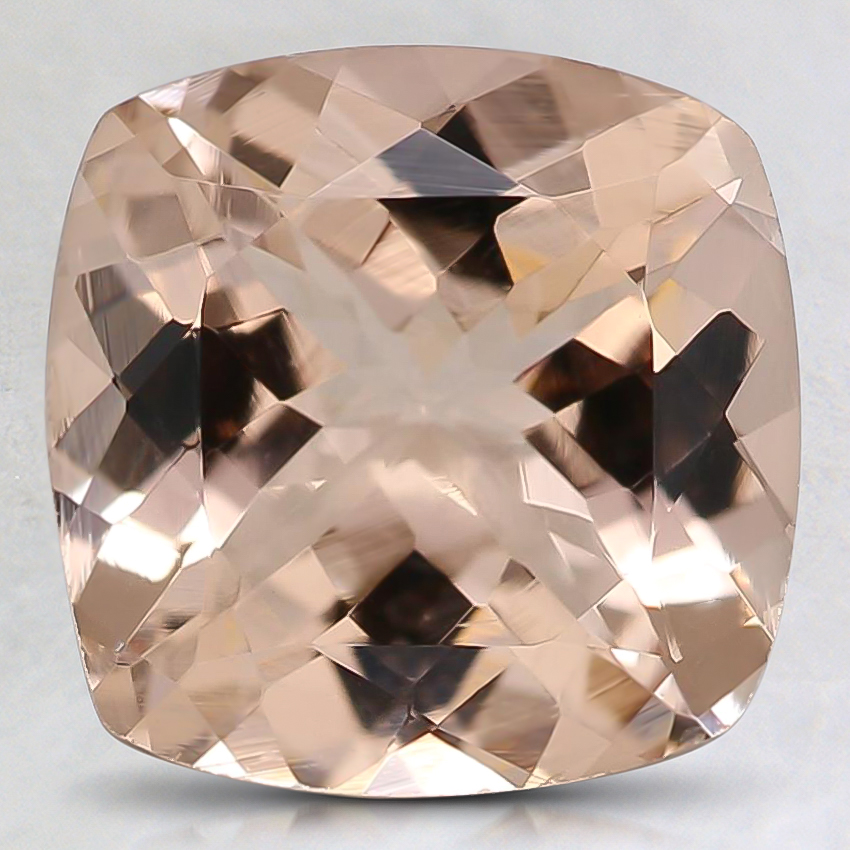 9mm Peach Cushion Morganite