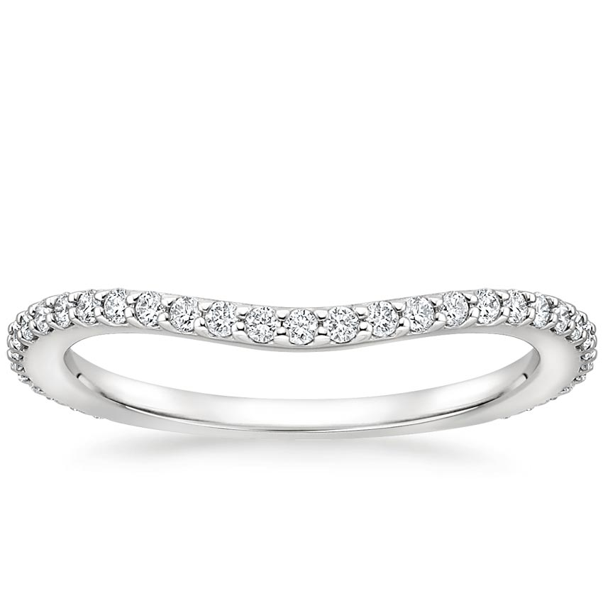 Luxe Curved Diamond Ring