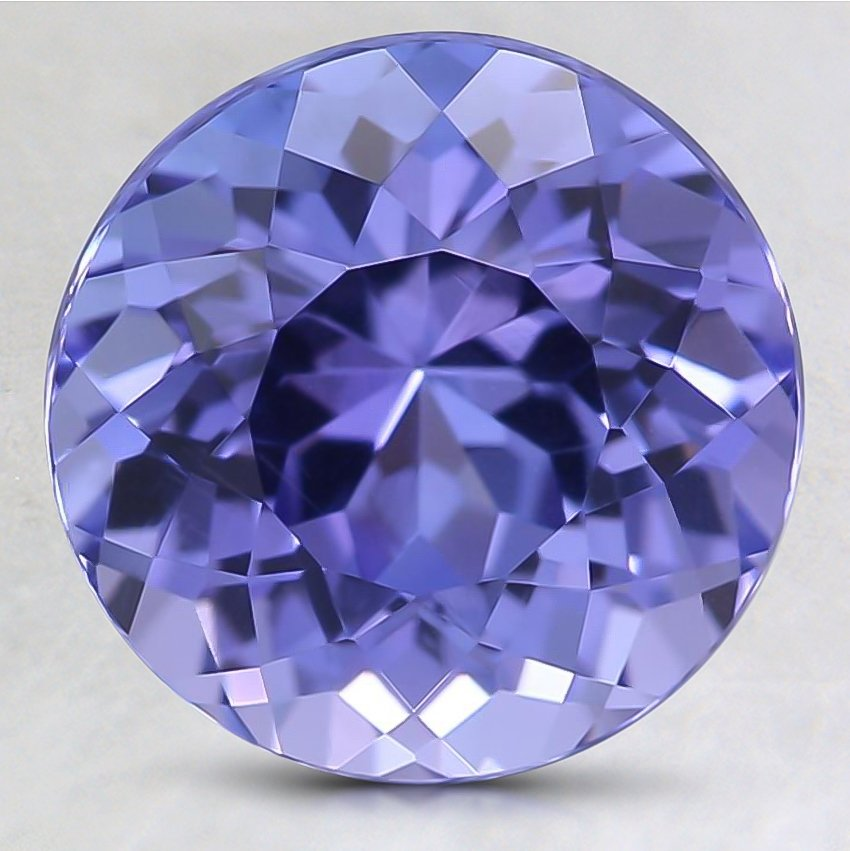 9.1mm Premium Purple Round Tanzanite