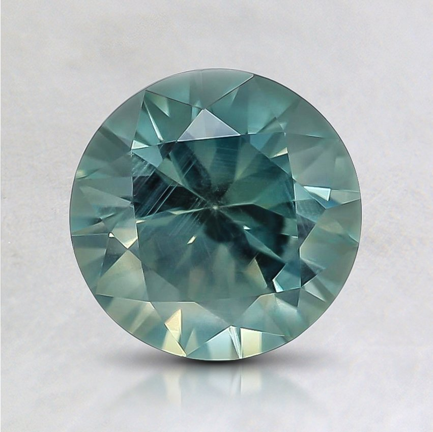 6.7mm Montana Teal Round Sapphire