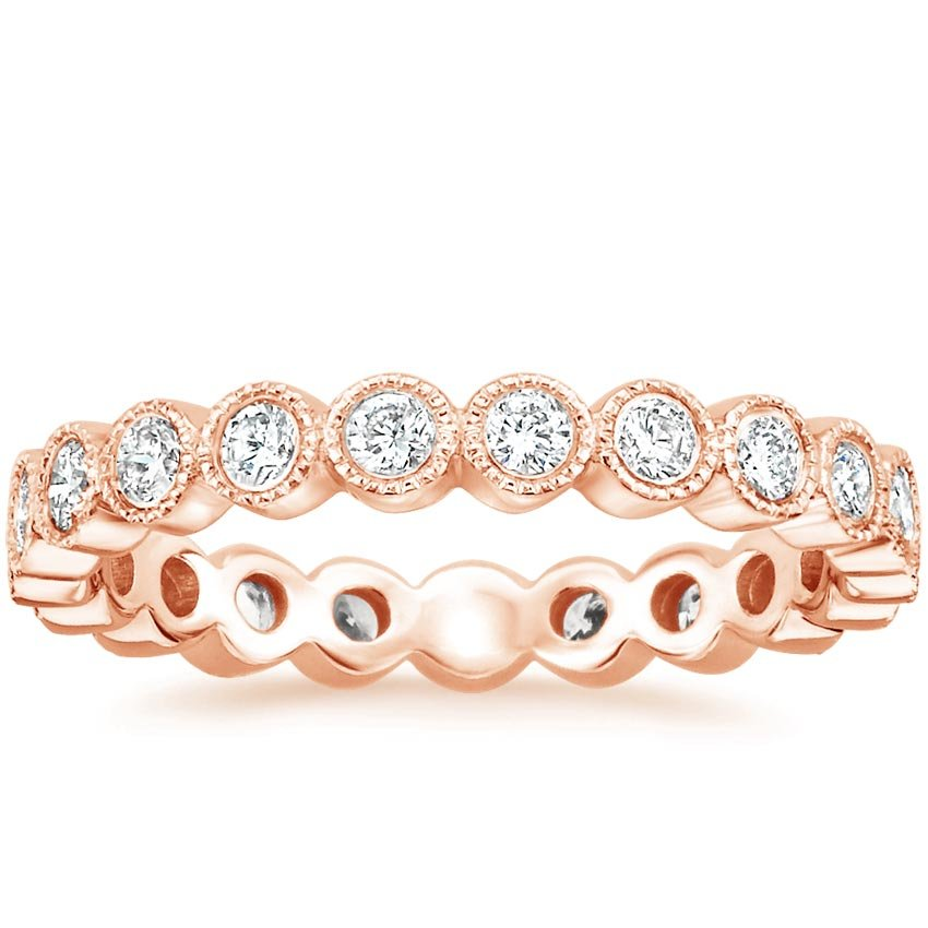 Rose Gold Luxe Solstice Eternity Diamond Ring (5/8 ct. tw.)