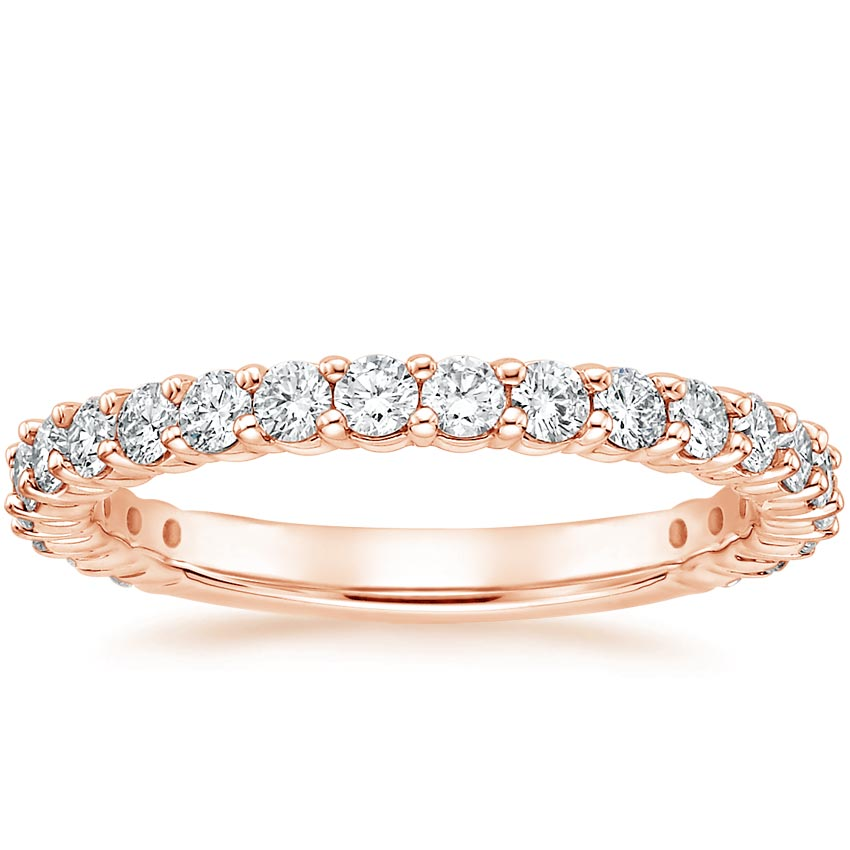 Rose Gold Luxe Shared Prong Diamond Ring (5/8 ct. tw.)