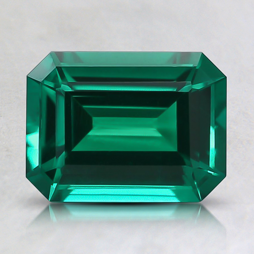 8x6mm Lab Created Emerald