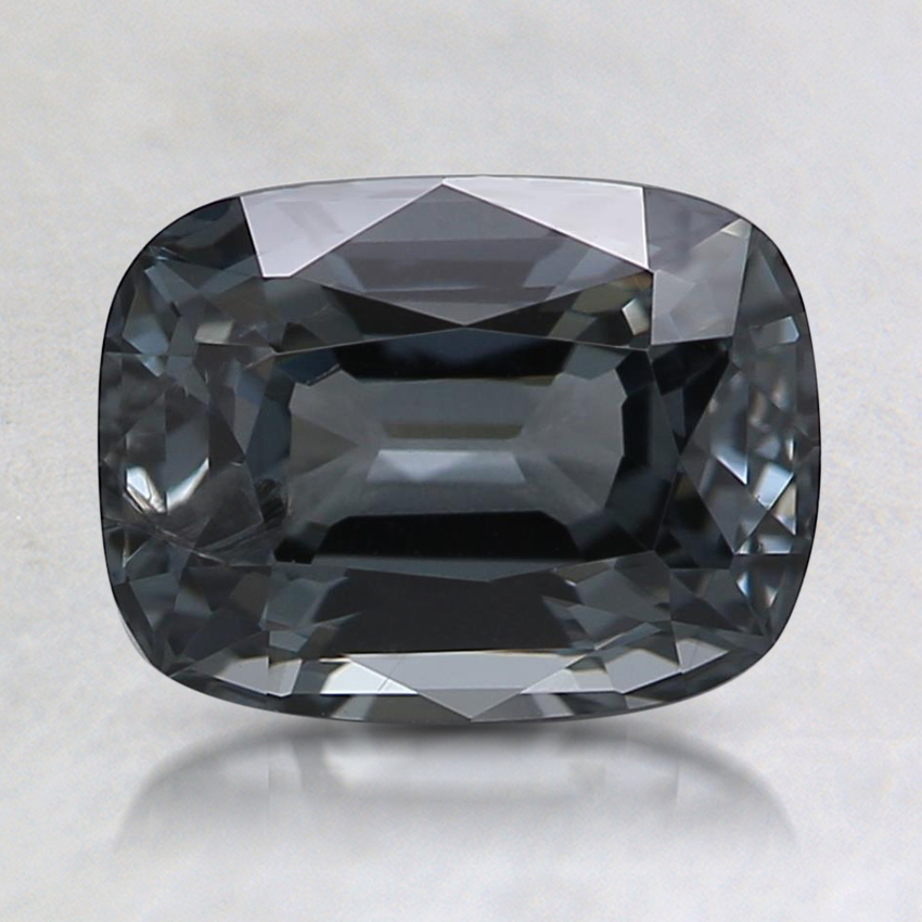 8x6.1mm Gray Cushion Spinel
