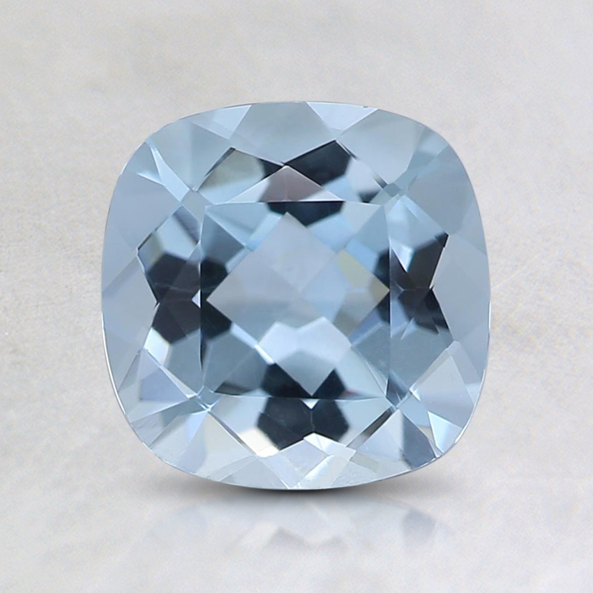 7.7mm Fine Cushion Aquamarine