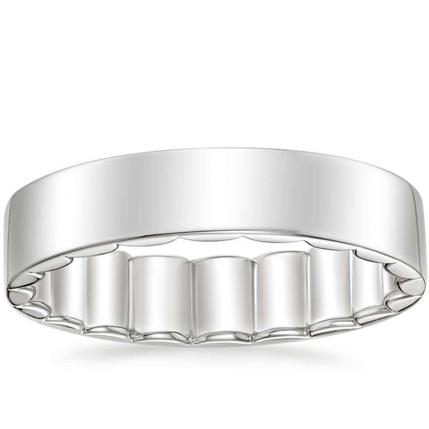 Sinclair Ring in 18K White Gold