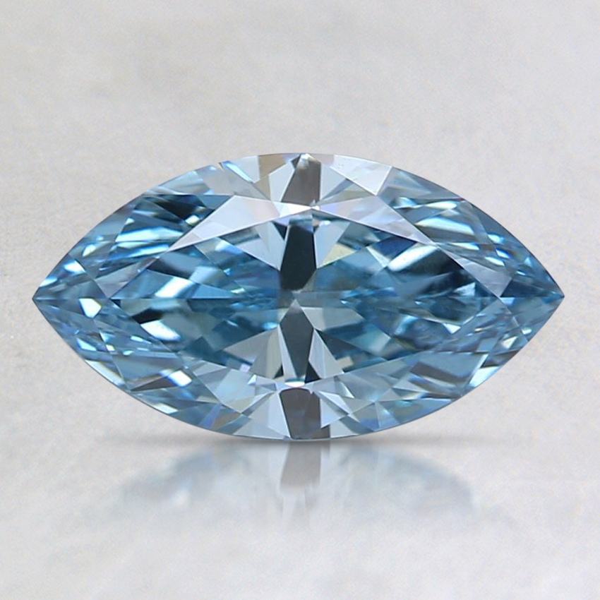 1.11 Ct. Fancy Blue Marquise Lab Created Diamond