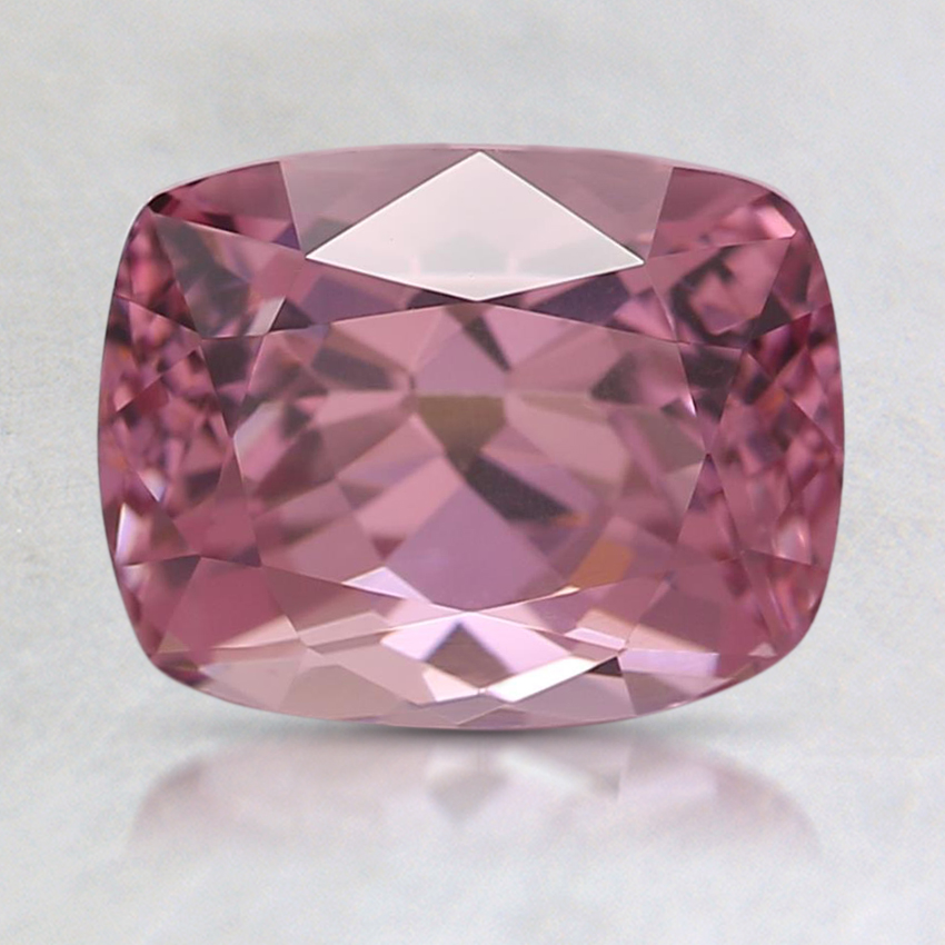 8.1x6.3mm Pink Cushion Garnet