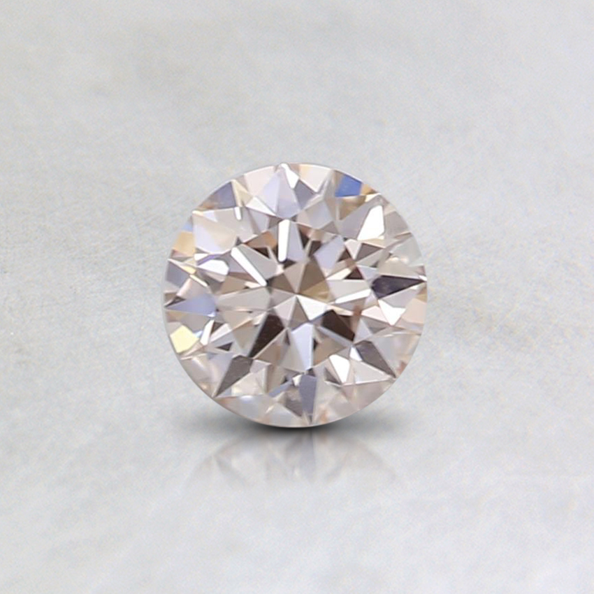 0.32 Ct. Very Light Pink Round Lab Created Diamond