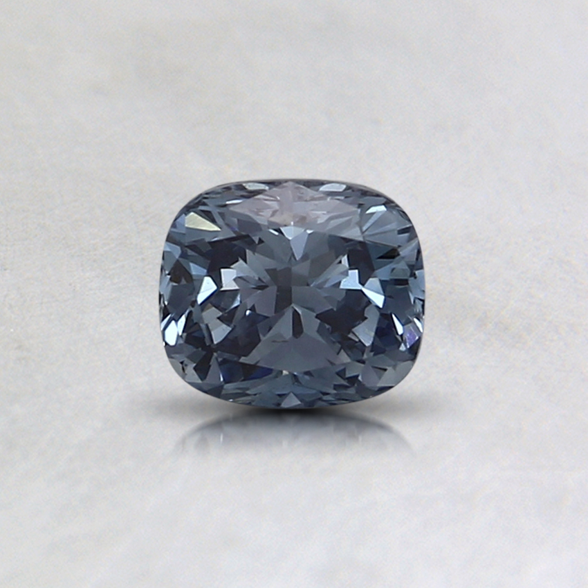 0.43 Ct. Fancy Intense Blue Cushion Lab Created Diamond