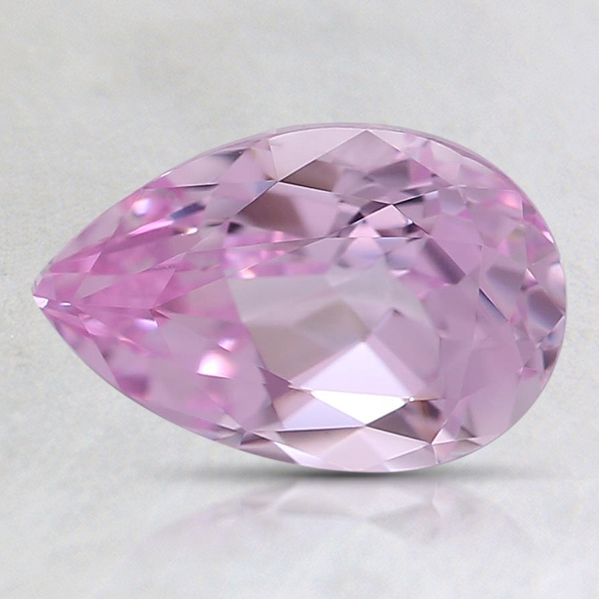 9x6mm Lab Created Pink Pear Lab Created Sapphire