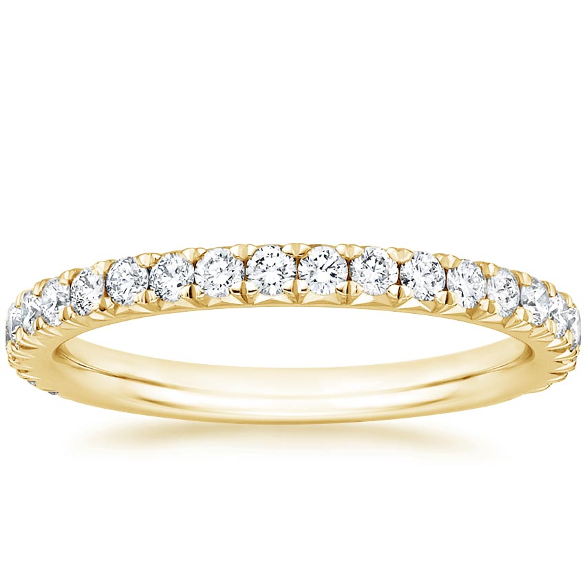 Yellow Gold Luxe Amelie Diamond Ring (1/2 ct. tw.)