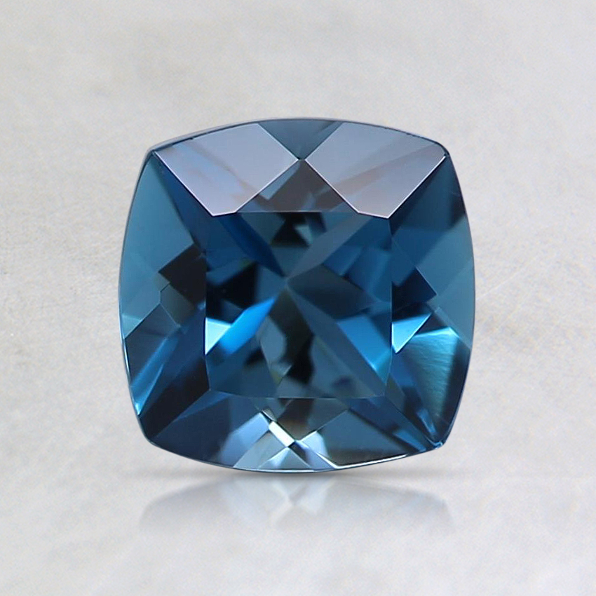 6mm Blue Cushion Topaz