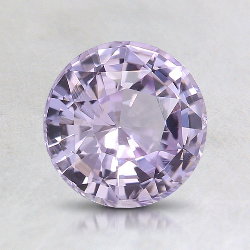 6.8mm Unheated Pink Round Sapphire